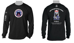 505th Airborne Infantry Regiment Long Sleeve Moisture Wick T-Shirt