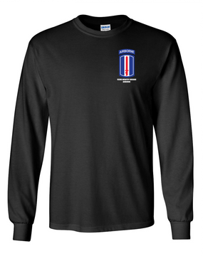 193rd Infantry Brigade Airborne Long-Sleeve Cotton Shirt