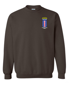 193rd Infantry Brigade Airborne w/ Ranger Tab Embroidered Sweatshirt