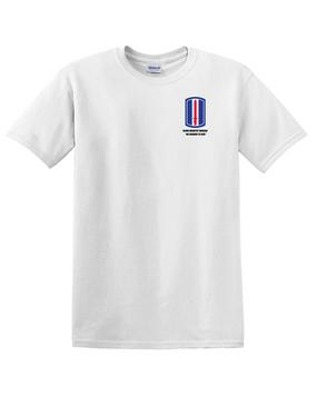 193rd Infantry Brigade  Cotton T-Shirt -Pocket