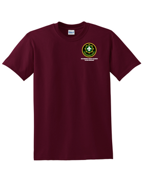 2nd Armored Cavalry Regiment Cotton T-Shirt -Pocket