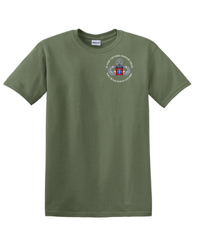 US Army Advanced Airborne School -Ft Bragg  Cotton T-Shirt