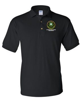 2nd Armored Cavalry Regiment Embroidered Cotton Polo Shirt
