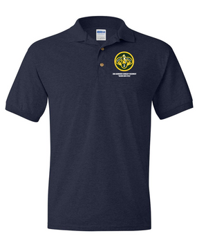 3rd Armored Cavalry Regiment Embroidered Cotton Polo Shirt
