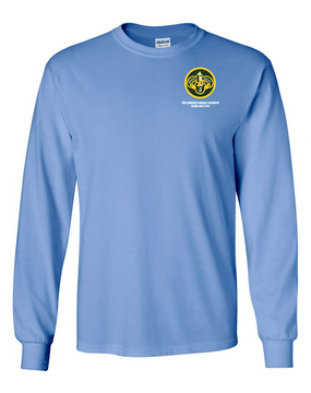 3rd Armored Cavalry Regiment Long-Sleeve Cotton Shirt  -Pocket