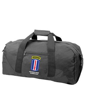 193rd Infantry Brigade w/ Ranger Tab Embroidered Duffel Bag