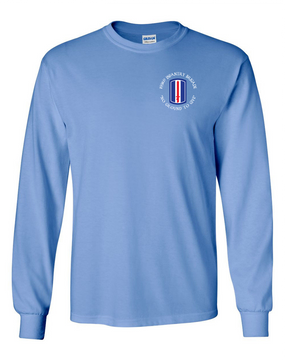 193rd Infantry Brigade Long-Sleeve Cotton Shirt  (C)