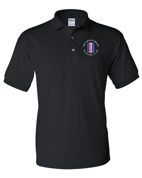 193rd Infantry Brigade Embroidered Cotton Polo Shirt (C)