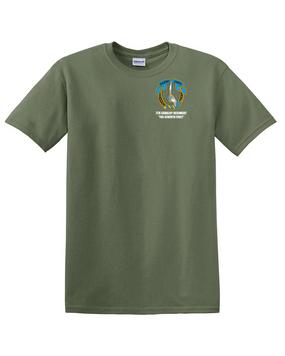 7th Cavalry Regiment Cotton T-Shirt -Pocket