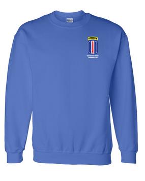 193rd Infantry Brigade w/ Ranger Tab Embroidered Sweatshirt