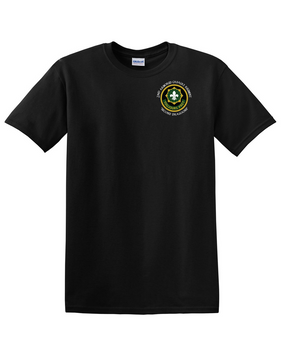 2nd Armored Cavalry Regiment Cotton T-Shirt -Pocket (C)
