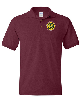 3rd Armored Cavalry Regiment Embroidered Cotton Polo Shirt (C)