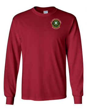 2nd Armored Cavalry Regiment Long-Sleeve Cotton Shirt  -Pocket (C)