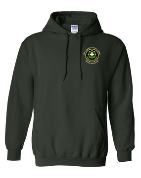 2nd Armored Cavalry Regiment Embroidered Hooded Sweatshirt  (C)