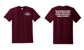US Army Veteran Cotton T-Shirt -Arthritis-(P)