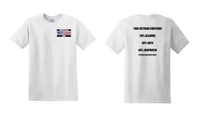 US Army Veteran Cotton T-Shirt -Hate-(P)