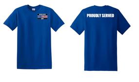 US Army Veteran Cotton T-Shirt -Proudly-(P)