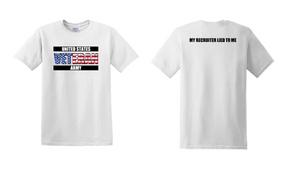 US Army Veteran Cotton T-Shirt -Recruiter-(FF)