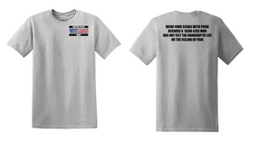 US Army Veteran Cotton T-Shirt -Scars-(P)