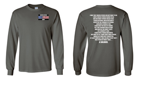 US Army Veteran Long-Sleeve Cotton Shirt  -That Which Others- (P)