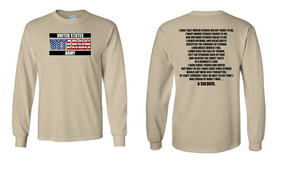 US Army Veteran Long-Sleeve Cotton Shirt  -That Which Others- (FF)