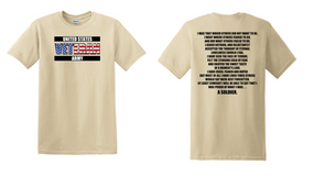 US Army Veteran Cotton T-Shirt -That Which Others-(FF)