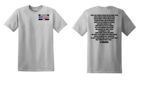 US Army Veteran Cotton T-Shirt -That Which Others-(P)
