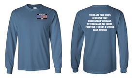 US Army Veteran Long-Sleeve Cotton Shirt  -Two Kinds- (P)