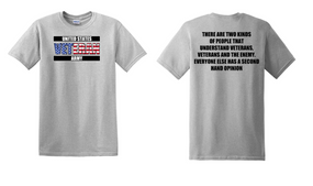 US Army Veteran Cotton T-Shirt -Two Kinds-(FF)