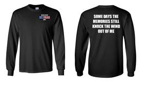 US Army Veteran Long-Sleeve Cotton Shirt  -Wind- (P)