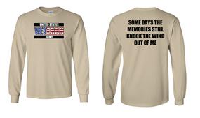 US Army Veteran Long-Sleeve Cotton Shirt  -Wind- (FF)