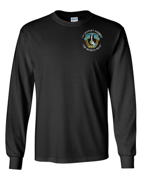 7th Cavalry Regiment Long-Sleeve Cotton Shirt  -Pocket (C)