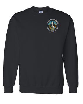 7th Cavalry Regiment Embroidered Sweatshirt  (C)