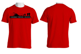 RED - Remember Everyone Deployed  Cotton T-Shirt