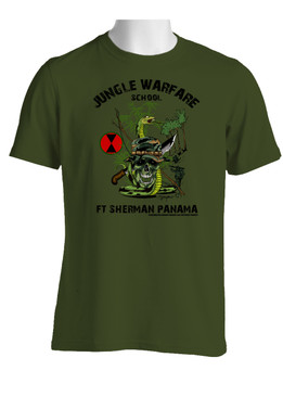 7th Infantry Division Jungle Master Cotton T-Shirt (OS)