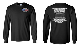 US Marine Corps Veteran Long-Sleeve Cotton Shirt  -Marine- (P)