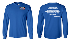 US Marine Corps Veteran Long-Sleeve Cotton Shirt  -Reagan- (P)