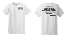 US Marine Corps Veteran Cotton T-Shirt -Reagan-(P)