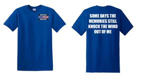 US Marine Corps Veteran Cotton T-Shirt -Wind-(P)
