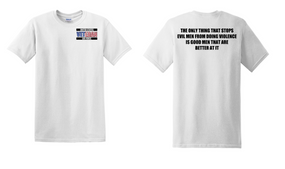 US Air Force Veteran Cotton T-Shirt -Evil-(P)