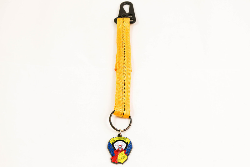 "US Paratrooper ""Senior"" Static Line Key Chain"