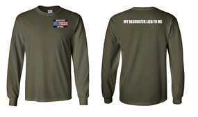 US Air Force Veteran Long-Sleeve Cotton Shirt  -Recruiter- (P)