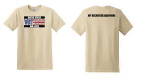 US Air Force Veteran Cotton T-Shirt -Recruiter-(FF)