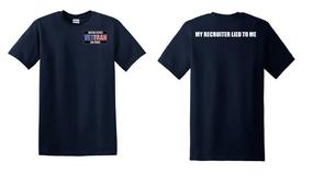 US Air Force Veteran Cotton T-Shirt -Recruiter-(P)