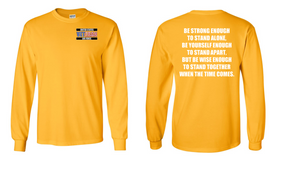US Air Force Veteran Long-Sleeve Cotton Shirt  -Stand- (P)
