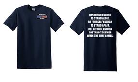 US Air Force Veteran Cotton T-Shirt -Stand-(P)