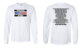 US Air Force Veteran Long-Sleeve Cotton Shirt  -That Which Others- (FF)