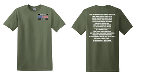 US Air Force Veteran Cotton T-Shirt -That Which Others-(P)
