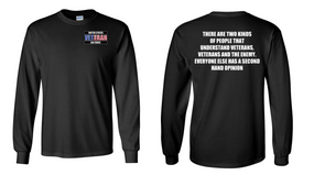 US Air Force Veteran Long-Sleeve Cotton Shirt  -Two Kinds- (P)
