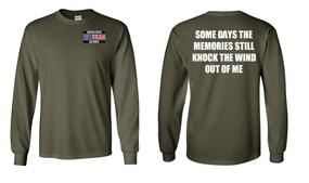 US Air Force Veteran Long-Sleeve Cotton Shirt  -Wind- (P)